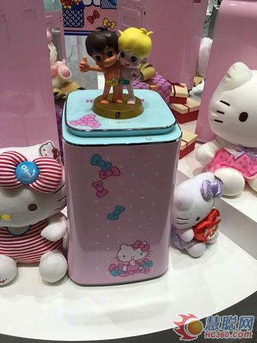 全球首款海尔Hello Kitty定制洗衣机